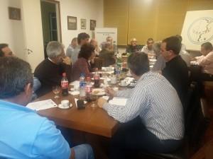 Reunión de mensual FAPJRA